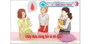 Chị em cẩn thận khi chảy máu vùng kín