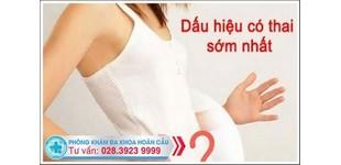 Dấu hiệu mang thai thường gặp ở phụ nữ