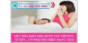 Dấu hiệu mang thai tuần đầu ở phụ nữ