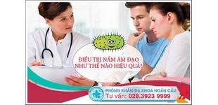 Điều trị nấm âm đạo hiệu quả ngay sau một liệu trình