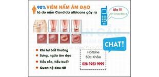 Bệnh nấm âm đạo ở nữ giới
