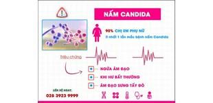 Những triệu chứng khi nhiễm nấm Candida chị em cần biết