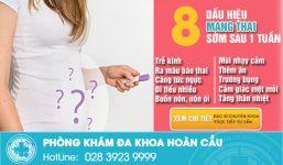 Nhận biết dấu hiệu có thai sớm thai ngoài ý muốn