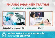 Phòng khám kiểm tra thai chính xác tại TPHCM